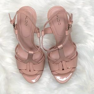 d3f1230ab9f Aldo Shoes - NWOT Aldo Chelly Platform Sandal Heel Light Pink